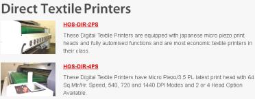 direct textile printers